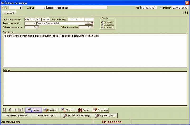 Software de Gestión Comercial para Tiendas de Informática   Verial